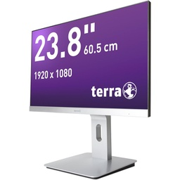 [3030013] TERRA LED 2462W PV silber DP/HDMI GREENLINE PLUS
