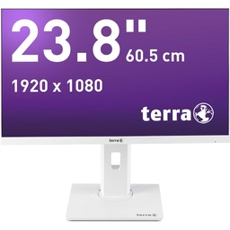 TERRA LED 2463W PV white DP/HDMI GREENLINE PLUS